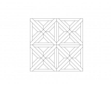 Модульный паркет, Дуб Рустик, арт. M1013-D650R