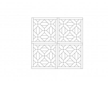 Модульный паркет, Дуб Рустик, арт. M1014-D650R