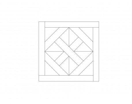 Модульный паркет, Дуб Селект, арт. M1015-D650S