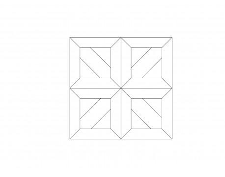 Модульный паркет, Дуб Рустик, арт. M1016-D650R