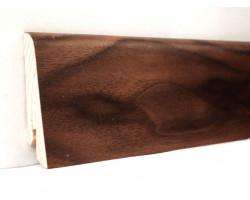 Шпонированный плинтус KluchuK, Американский Орех, арт. № KLE60-06